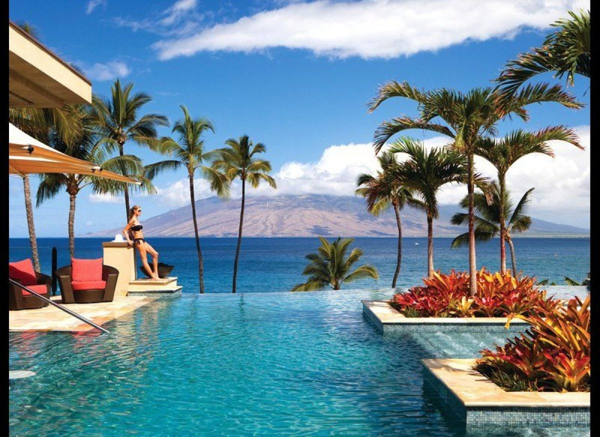 <strong>Maui, Hawaii</strong><strong>What You'll See:</strong> The $9 million, 4,100-square-foot pool, which opened in 2009,