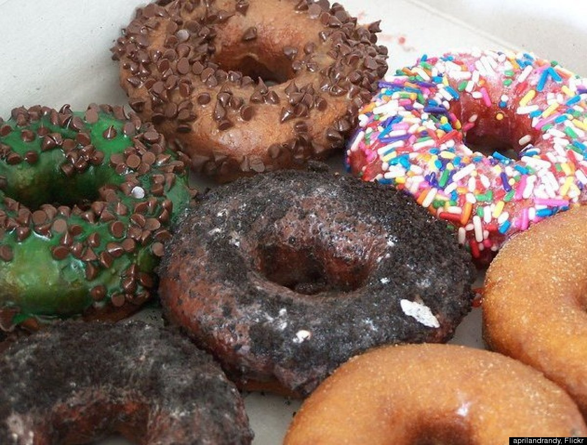 If you are somehow uninspired by the Black Forest, Strawberry Shortcake, French Toast and Trail Mix doughnuts, don't worry. <