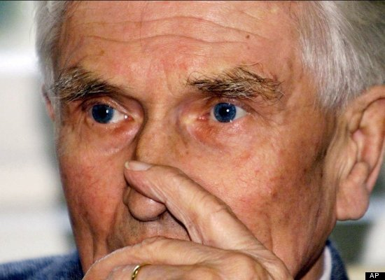 Anton Malloth, an 89-year-old former guard at the Theresienstadt fortress in occupied Czechoslovakia, is sentenced to life in