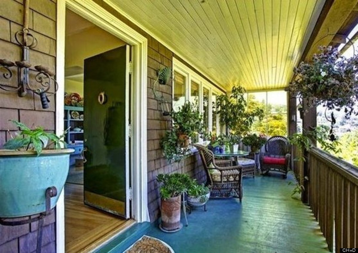 Ever wonder what's behind those garages lining the winding streets above Sausalito? This classic 4-bed, 2-bath shingled Marin