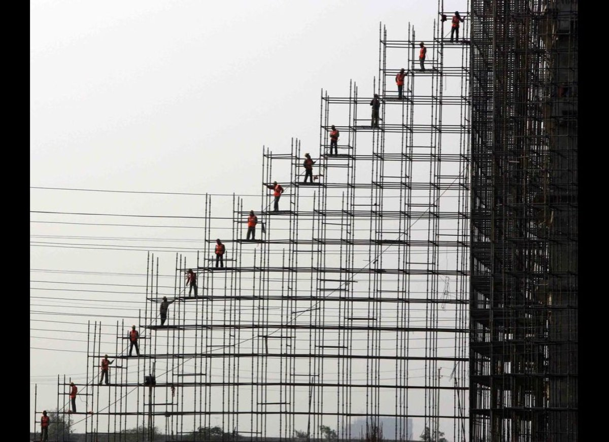 Photo Tile: Construction By Kamal Krishore From: New Dehli, India  Photo taken in: Greater Noida, India Statement: In th