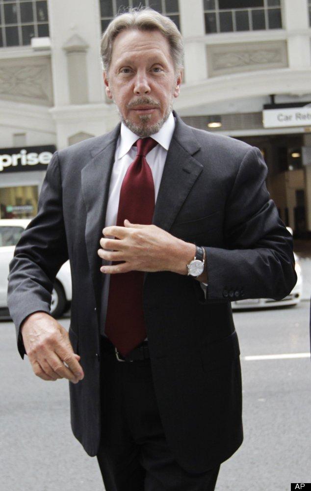 """Worth: <a href=""""http://www.forbes.com/profile/larry-ellison/"""" target=""""_hplink"""">$36 Billion</a> Number Of Marriages: 4  Lar"""