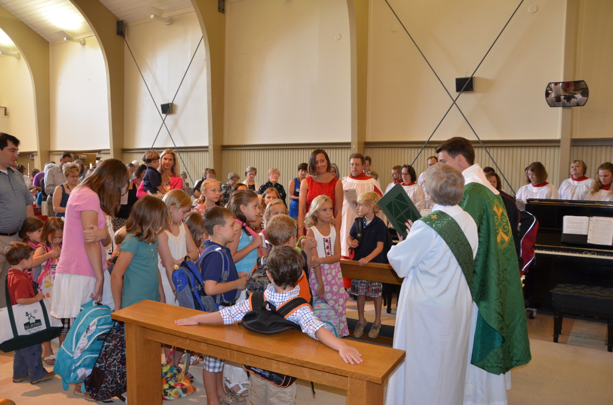 Credit: Holy Innocents' Backpack Blessing