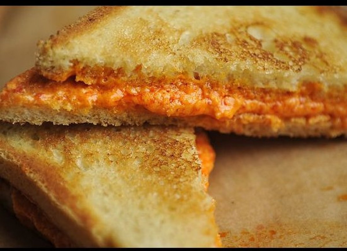 These electric orange sandwiches elevate the traditional grilled cheese by way of a new take on an old Southern favorite: pim