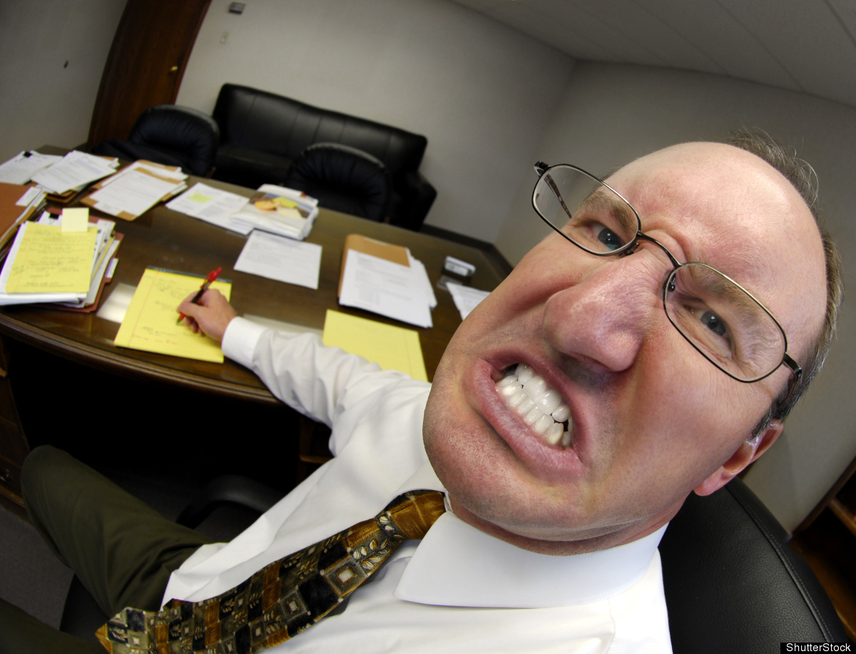 The boss was the top reason for job stress among 4 percent of workers.