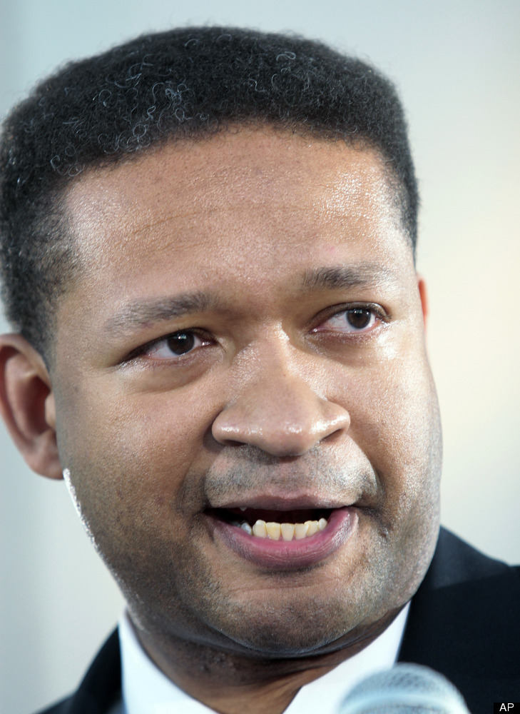 This Feb. 6, 2009, file photo, shows former Rep. Artur Davis, D-Ala., in Montgomery, Ala. Davis is shifting his voter registr
