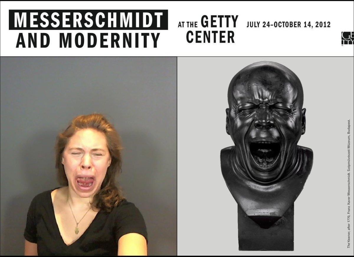 As parents, you probably see the whole gamut of human emotion and expression come across your children's faces. Messerschmidt