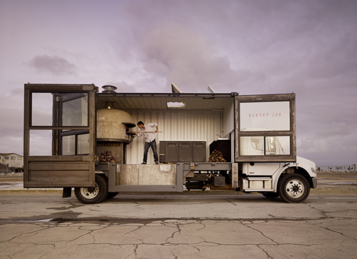 Jon Darsky, a former pizzaiolo at San Francisco's excellent Flour & Water, has repurposed a 20-foot shipping container to cre