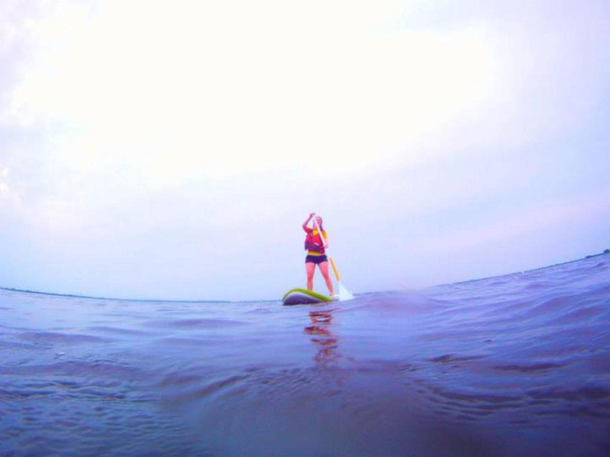 "You don't have to go on vacation to master the latest craze of Stand Up Paddleboarding. Just head to <a href=""http://www.supn"