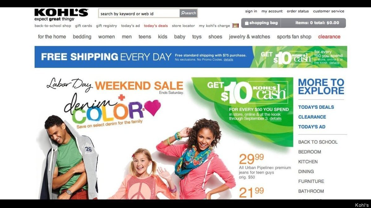 The Kohl's Labor Day sale, which ends September 1, offers up to 33 percent off on kitchen electrics, 40 to 50 percent off on