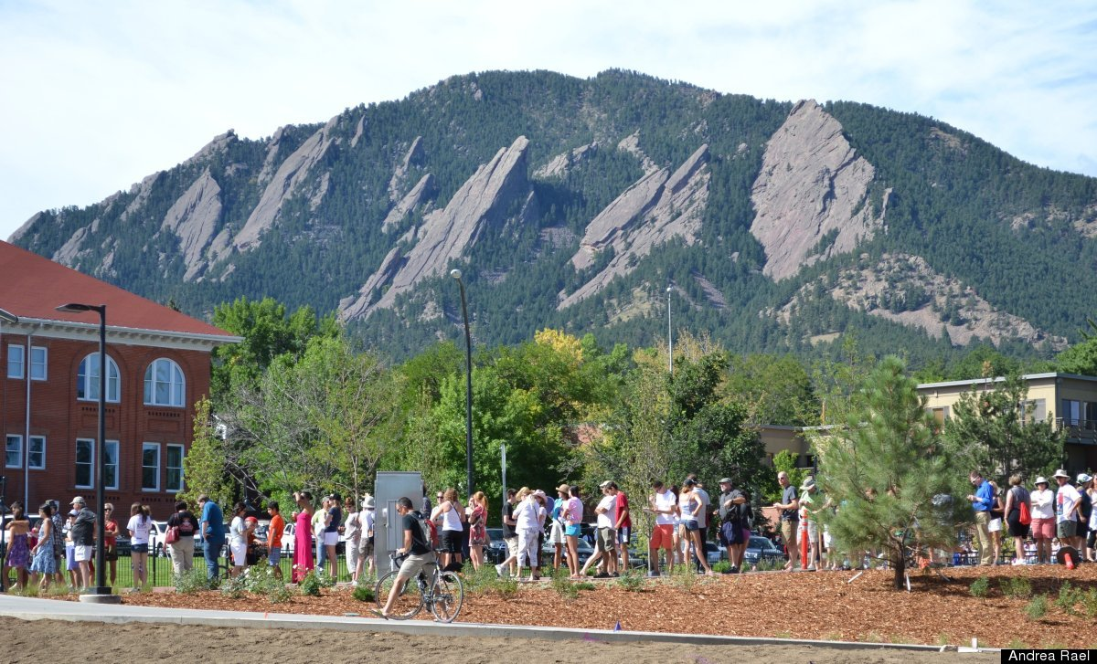 Over 13,000 lined up to see President Barack Obama at the University of Colorado Boulder, Sunday, Sept. 2, 2012, in Boulder,