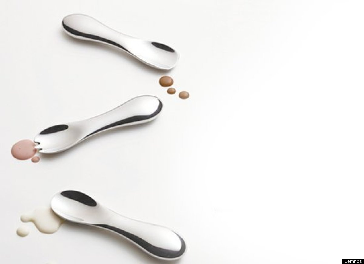 "The 15 Percent Ice Cream Spoon makes eating ice cream easier. According to the site ""the spoon is made of solid aluminum. Wit"