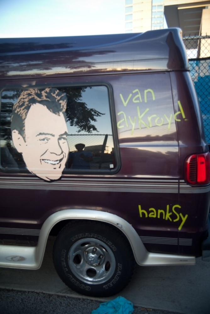Van Aykroyd, Hanksy and FeelTrip Photo by  Patrick Fahrner