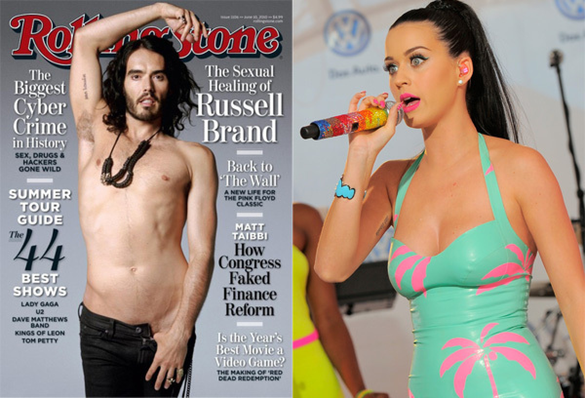 """In March 2012, Russell Brand <a href=""""http://hollywoodlife.com/2012/03/26/russell-brand-katy-perry-tattoo/"""" target=""""_hplink"""">"""