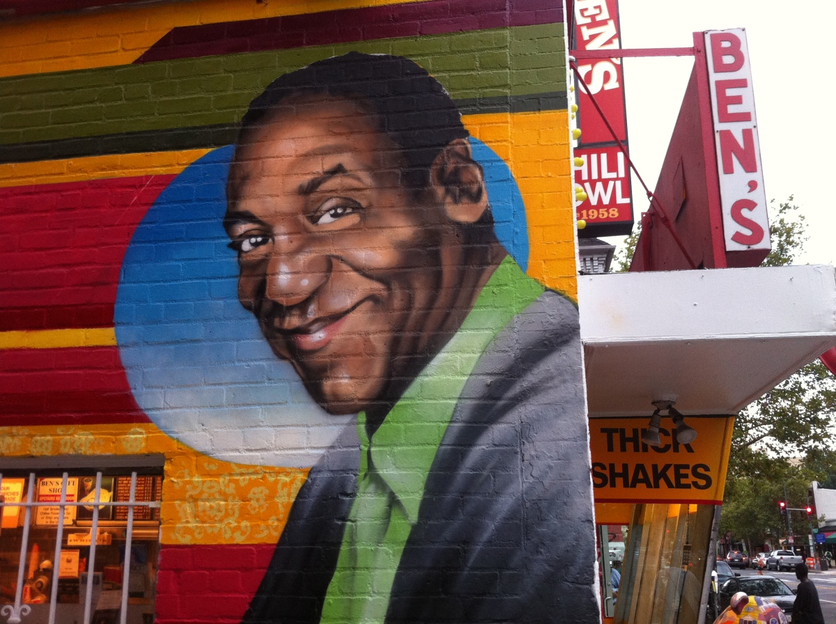 Ben 39 s chili bowl mural features barack obama bill cosby for Chuck brown mural