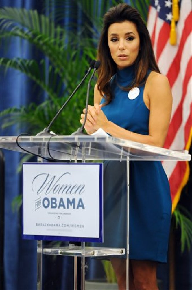 Longoria was appointed by President Barack Obama as one of the 35 national co-chairs behind his re-election campaign. The act