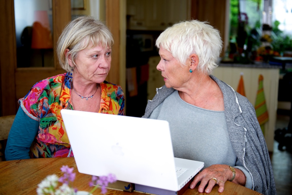 This is a cute story about dating in the Internet age as an elderly person. It stars Judi Dench ... Dame Judi Dench. 7/10