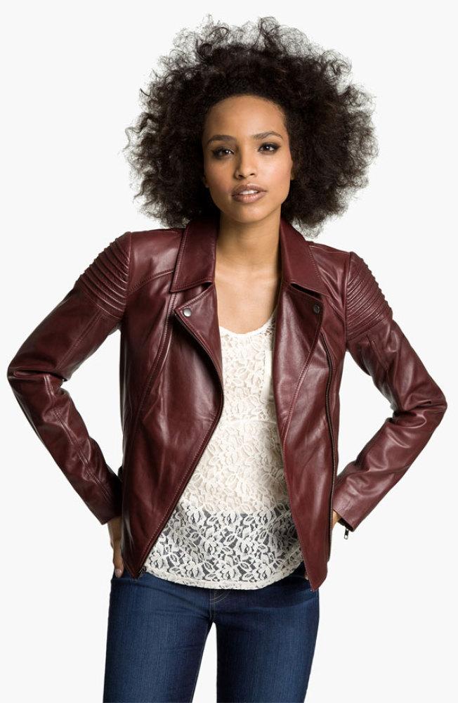 """<a href=""""http://shop.nordstrom.com/s/trouve-quilted-leather-biker-jacket/3256175?origin=category&cm_ven=Linkshare&cm_cat=part"""