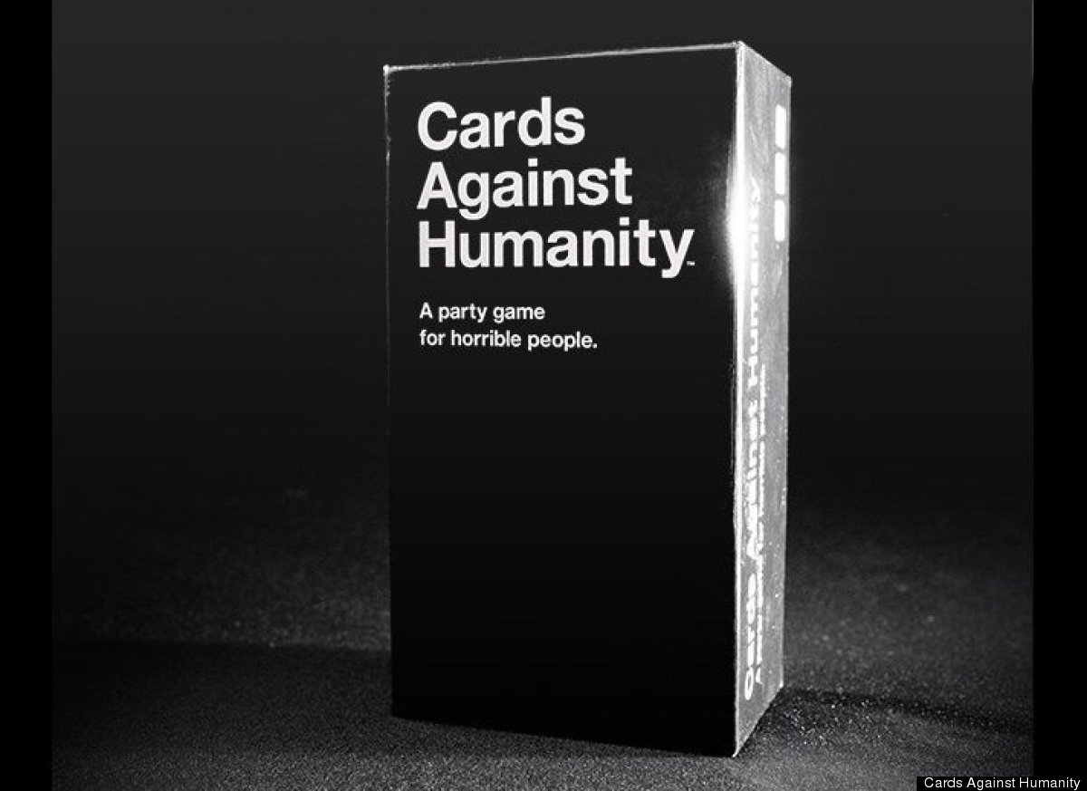 "Described as a ""party game for horrible people"", <a href=""http://cardsagainsthumanity.com/"" target=""_hplink"">Cards Against Hu"