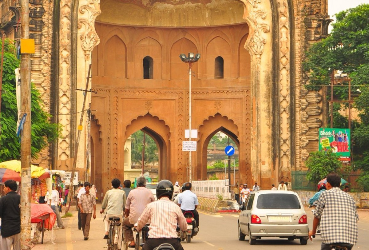 The Old City of Lucknow, gateway to bazaars, monuments and mausoleums