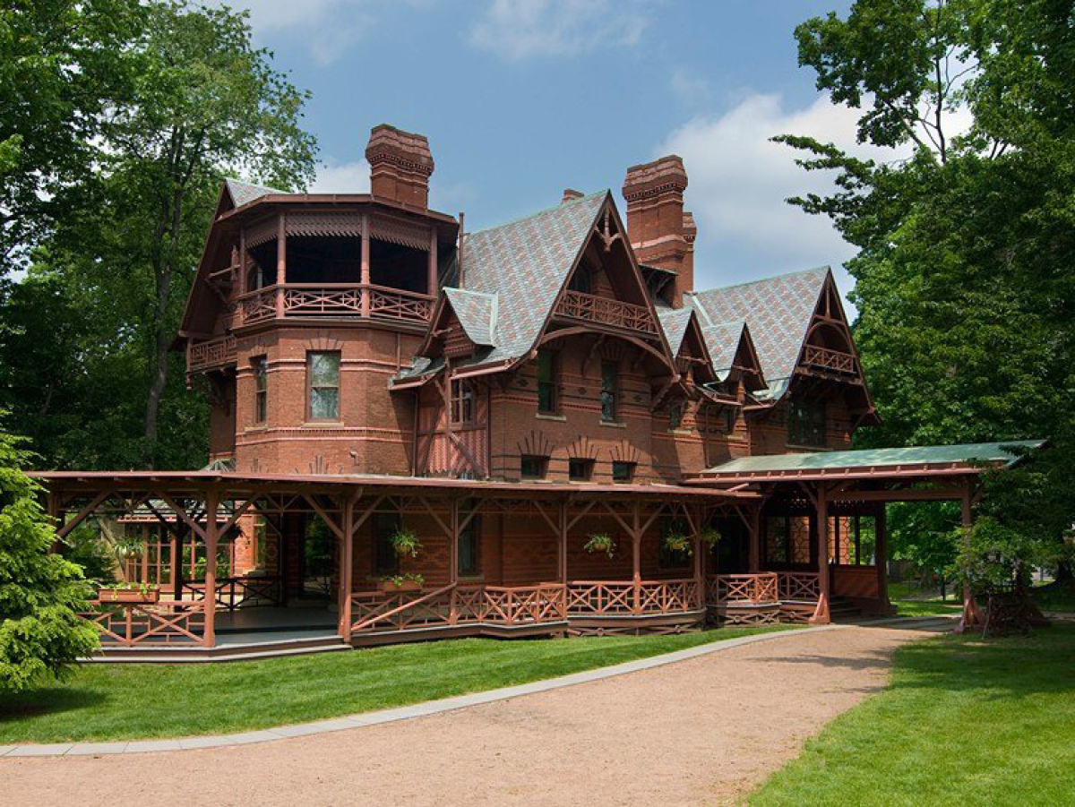<strong>Hartford, Connecticut</strong>  The Mark Twain House & Museum is where the plucky humorist and his family lived fro