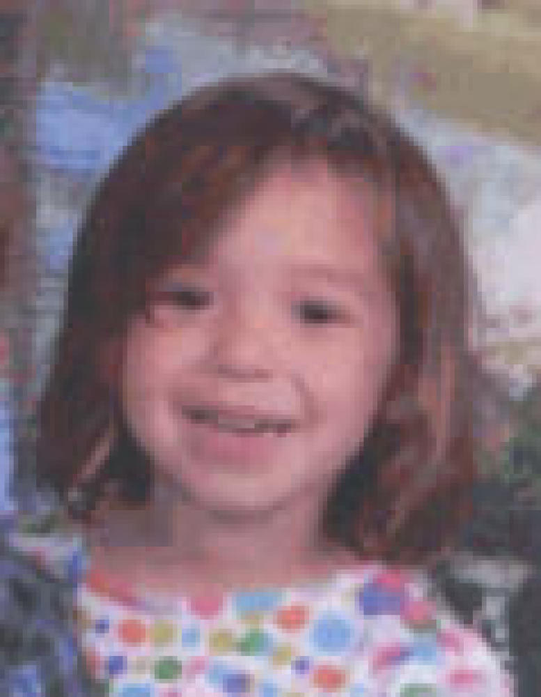 Brooklynn Maffei, 3, is believed to have been abducted, along with her 2-year-old brother, by their father, Christopher Maffe