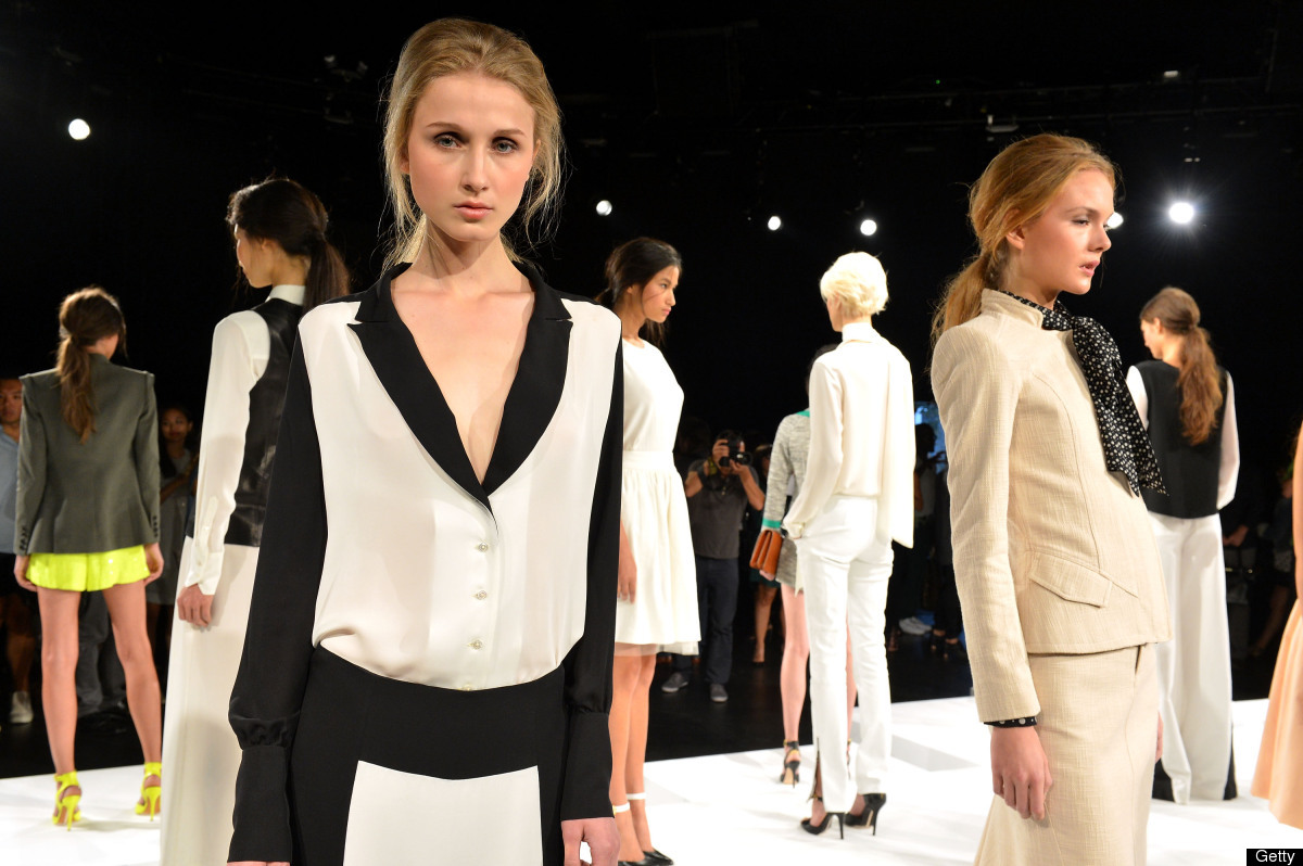 (Photo by Slaven Vlasic/Getty Images for Mercedes-Benz Fashion Week)