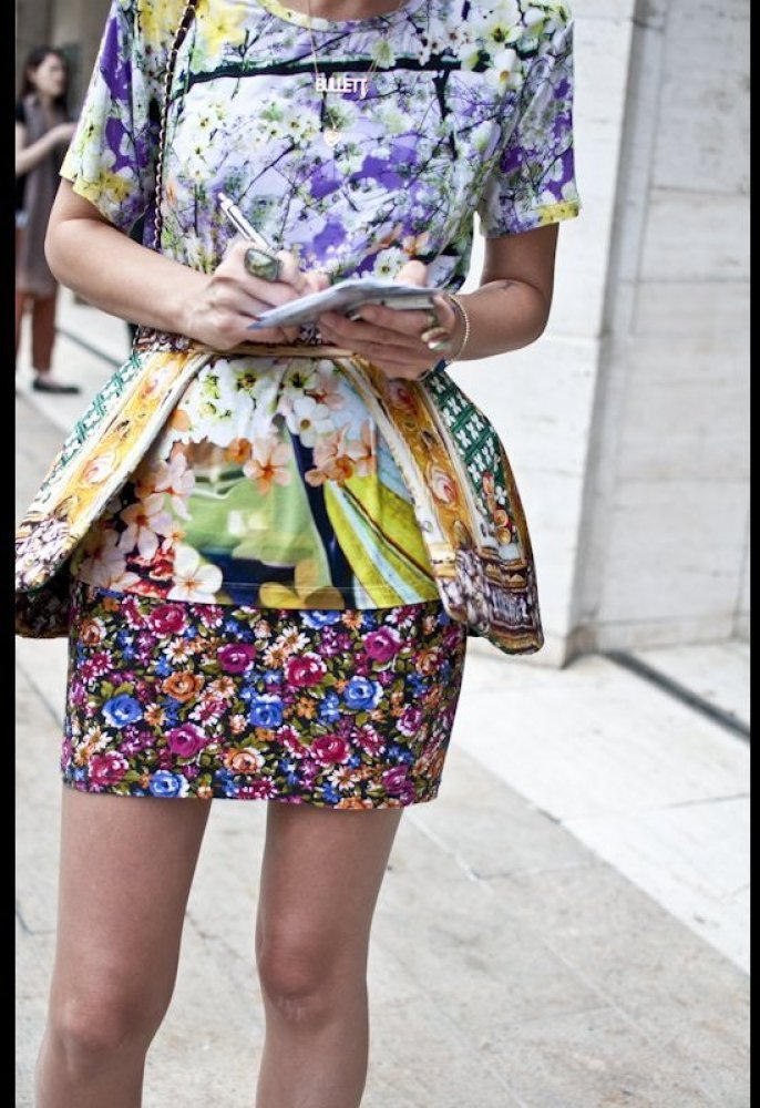 Floral Trends in NY Fashion Week
