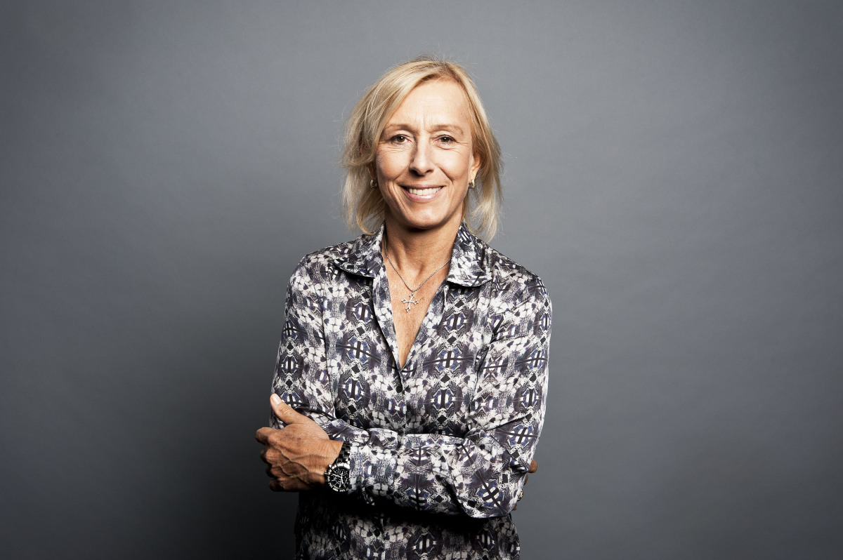 Martina Navratilova Staying Fit ing Out Battling Cancer