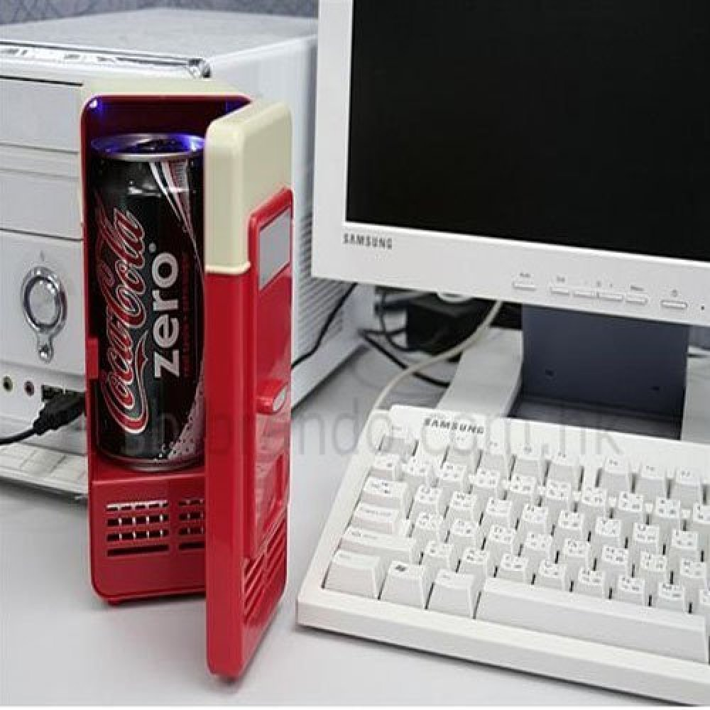 "If you're tired of getting up and down for a drink at work, try this <a href=""http://www.amazon.com/gp/product/B003L4Z57K"" ta"