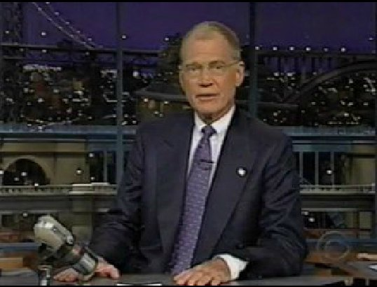 """On September 17, David Letterman was the first comedian to return to the air. His opening monologue has been <a href=""""http://"""