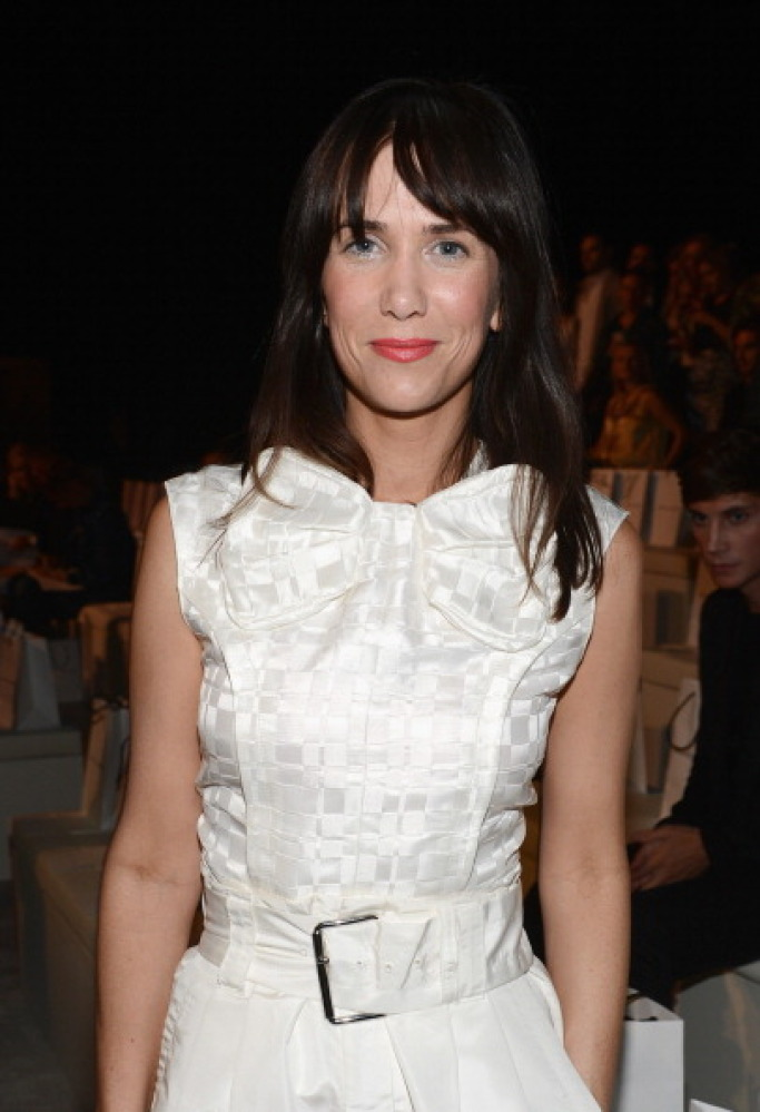 Funny girl Kristen Wiig has been taking her style pretty seriously lately.  We always new she was a hottie (remember that <a