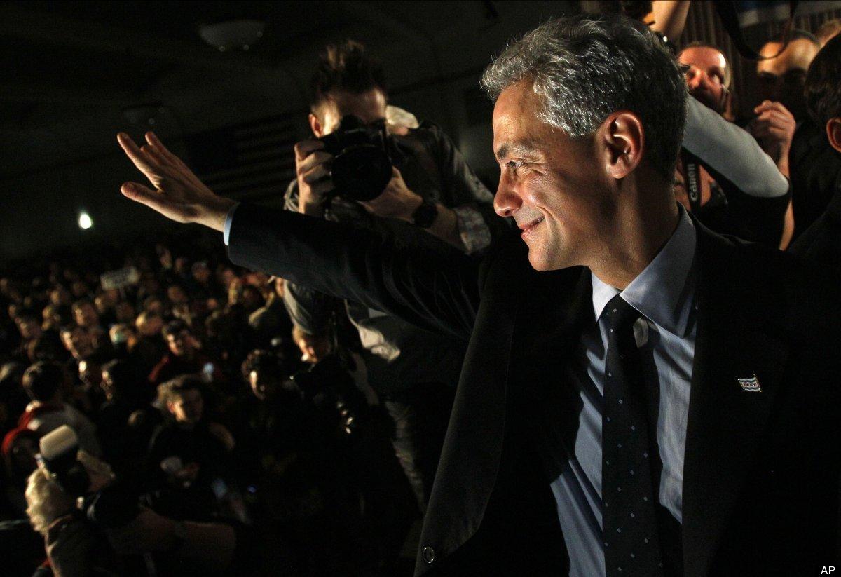 "Rahm Emanuel, former White House chief of staff, <a href=""http://www.huffingtonpost.com/2011/02/22/rahm-emanuel-wins-chicago-"
