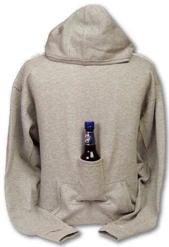"""Let's hope that sweatshirt is stain-proof. Also, get ready to be asked, """"Dude, where'd I put my beer?"""" a whole lot."""