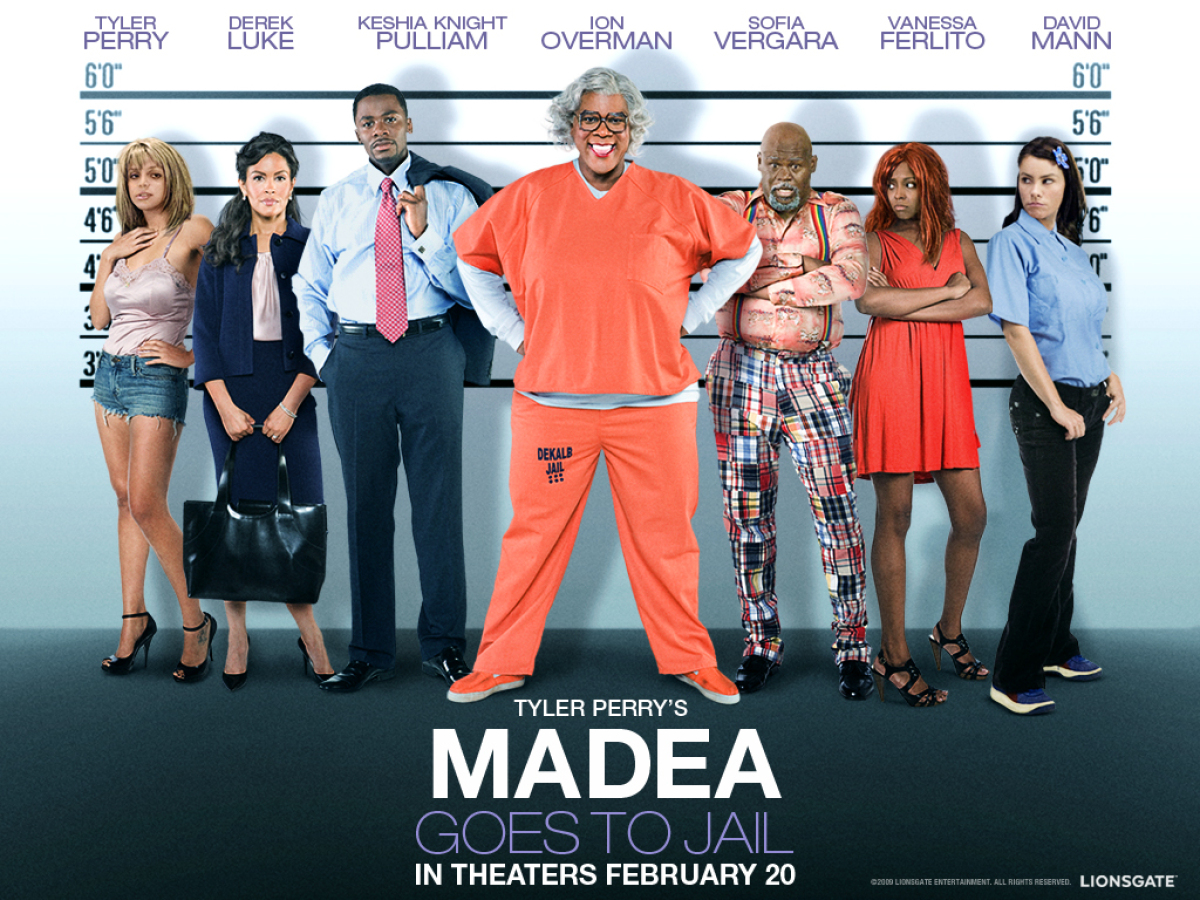 """Madea Goes to Jail"" - $41,030,947"