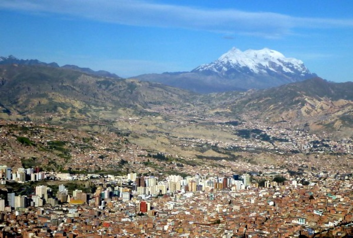 At 11,975 feet above sea level, La Paz is one of the highest cities in the world.
