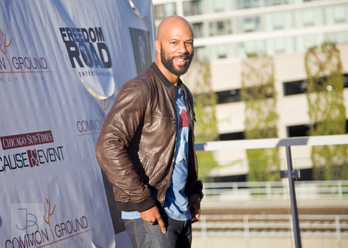 Rapper-turned-actor Common attends a special screening of his latest movie, <em>LUV</em>