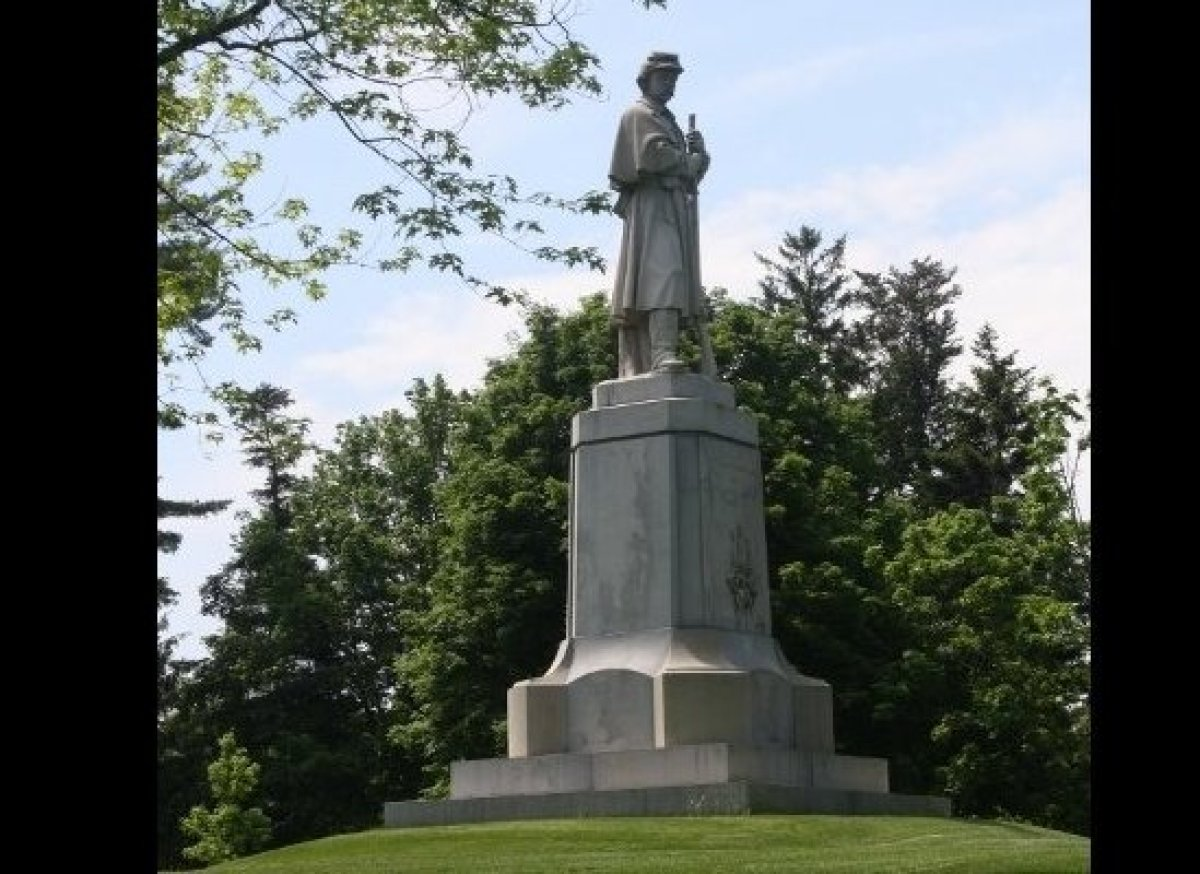 Statue of Union Soldier, Antietam National Cemetery