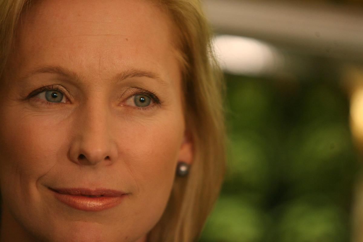 <em>Gillibrand grew so busy with her career and young family, she had to rediscover her fitness regime, and in the process re
