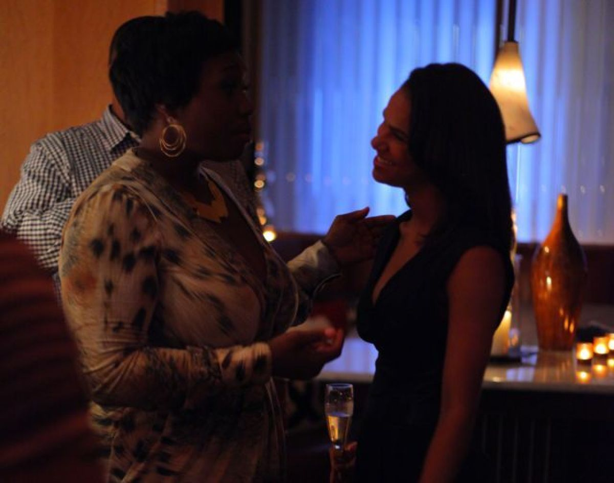 Host Bevy Smith with ABF soloist Misty Copeland