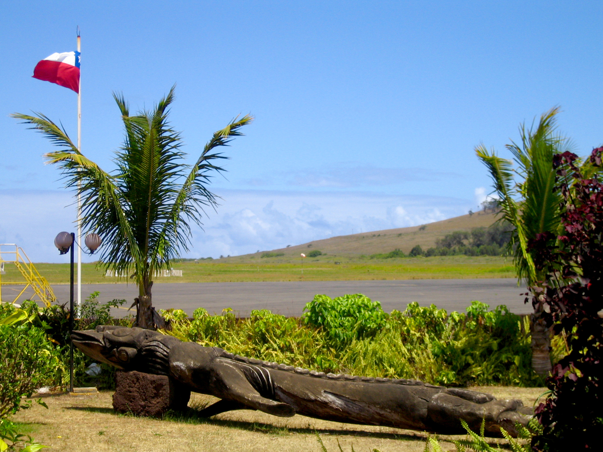 """The uncontested champion of remote airports is <a href=""""http://www.easterislandtourism.com/"""">Easter Island's Mataveri Airport"""