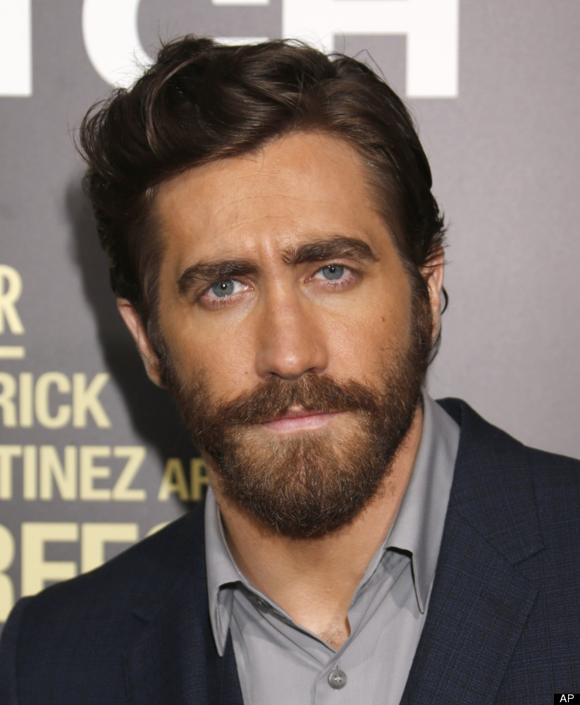 """Jake Gyllenhaal attends the LA premiere of """"End of Watch"""" at Regal Cinemas L.A. Live on Monday, Sept. 17, 2012, in Los Angele"""
