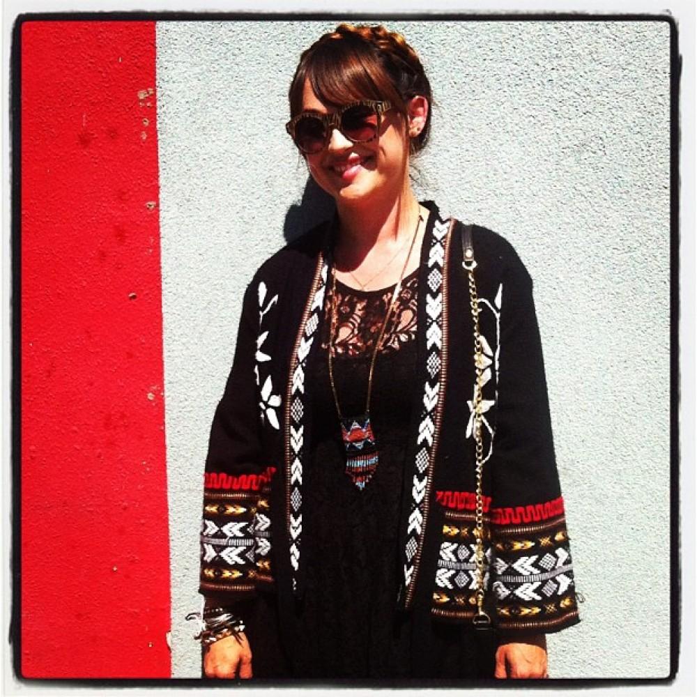 A taste of Albuquerque style. Thanks Heather! #UnitedStatesOfStyle