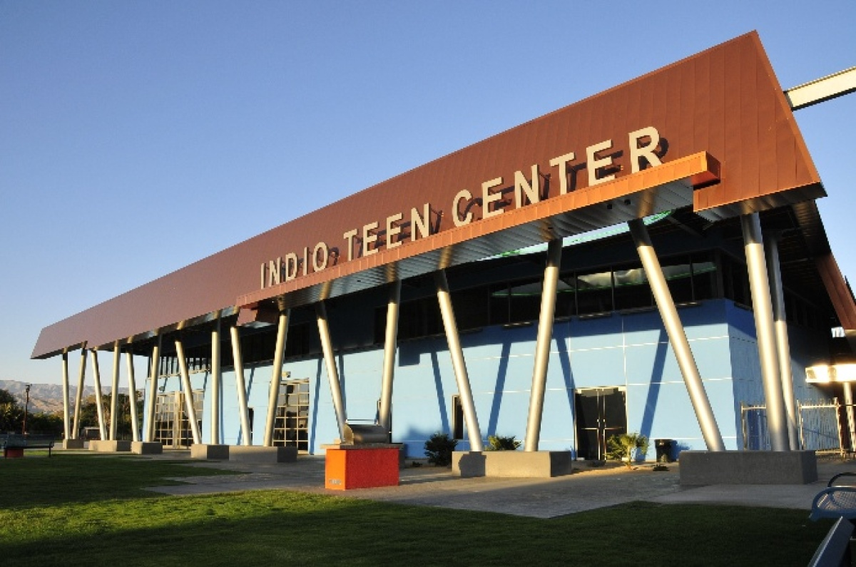 """Hispanic Student Population: 67.8% Graduation Rate: 84.3% Youth Poverty Rate: N/A  """"The City of Indio invested $7 million"""