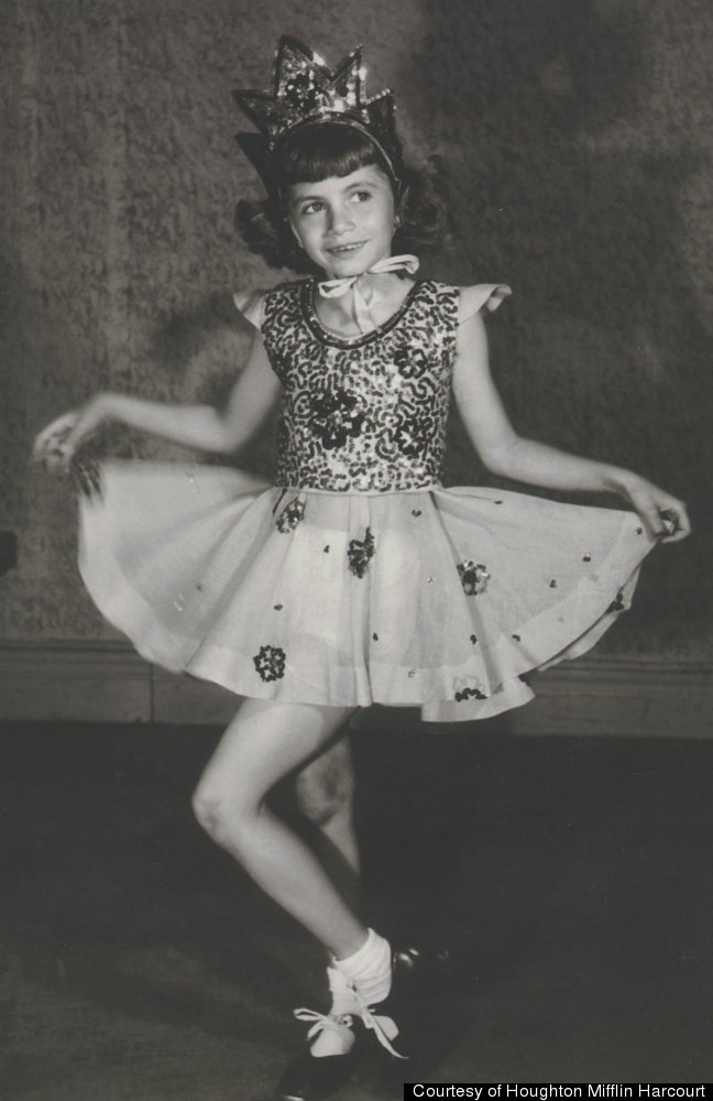 Penny as a girl in the Bronx, in costume for a performance at her mother's dancing school, the Marjorie Marshall Dance School