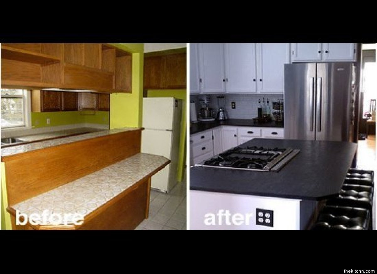 A completely new color scheme and overhaul of appliances. Sleek and shiny is a surefire way to modernize and make cooking in