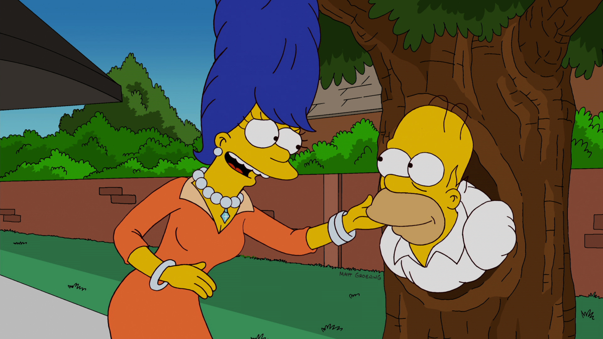 "In the 23rd annual ""Treehouse of Horror,"" we go back to ancient times when a Mayan Homer and Marge are witness to the predict"