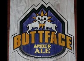 """Only drink this if you don't mind saying """"I'll have a Butt Face"""" all night long. (via <a href=""""http://www.greatclubs.com/beer"""