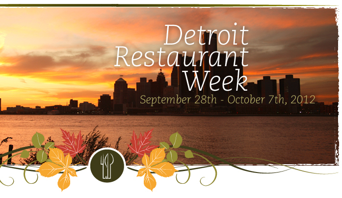 The Detroit Restaurant Week dates are Sept. 28 to Oct. 7. During that time (yes, slightly longer than a week), fine dining es