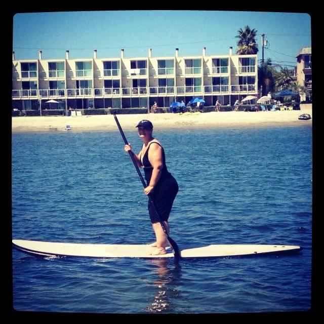 Went paddling! Soooo much fun!